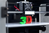 3D Printing Used to Create a Multi-Colored Light Field Prints