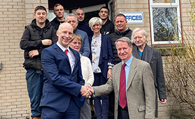 William Rowland Acquires EF Westaway