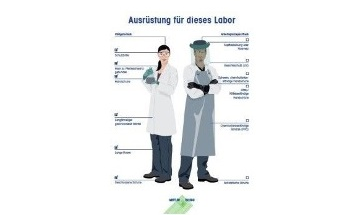 """Decrease Operator Risk: Customizable METTLER TOLEDO """"Proper Gear"""" Safety Poster Lets You Focus on Your Lab's Required Protective Equipment"""