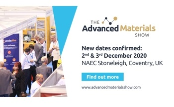 The Advanced Materials Show and Ceramics UK will Now Take Place on 2nd & 3rd December 2020, Stoneleigh UK