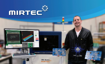 OBMFG Selects MIRTEC 3D AOI Above All Others for Inspection Performance and Ease of Programming