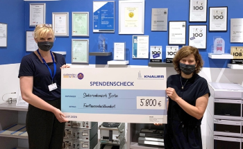 "KNAUER Donates to the ""Online Campus Participation"" Fund of the Studierendenwerk Berlin"