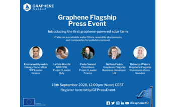 Discover Latest Technologies at Graphene Flagship Press Event