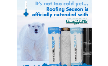 Extend Roofing Season with Polyglass Low-Temperature SBS Membranes