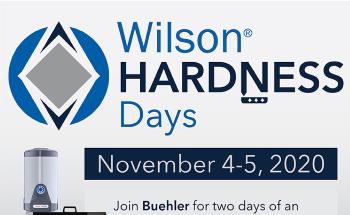 Buehler Sponsors Wilson Hardness Days November 4-5, 2020