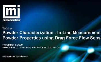 In-line Measurement of Powder Properties Using Drag Force Flow Sensors