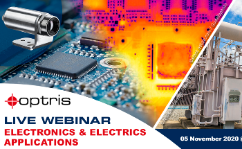 New Optris Webinar with Focus on Electronics and Utility Industries