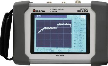 AMADA WELD TECH Announces MM-410A Handheld Resistance Weld Checker