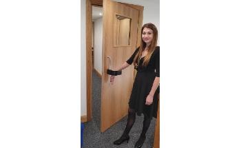 Easy to Fit Door Arm is Set to Help Reduce Spread of Virus in Healthcare Settings