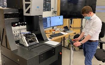 Optical Micro CMM Installed at AMRC