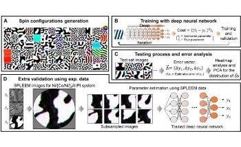 New Method to Estimate Magnetic Hamiltonian Parameters from Spin Structure Images