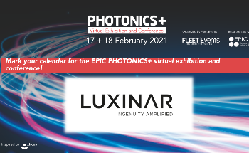 See Luxinar At PHOTONICS+ Virtual Exhibition and Conference On 17 & 18 February