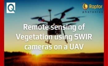 New Application Note:  Remote Sensing of Vegetation Using SWIR Cameras on a UAV