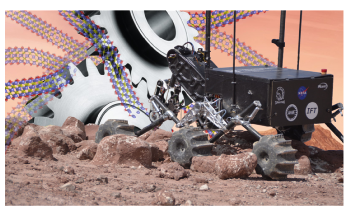 New Material may Reduce Wear and Tear on Future Space Rovers