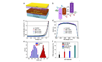 Novel Method to Overcome Defects in Perovskites Without Defect Passivation