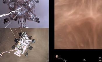 FLIR Machine Vision Cameras Capture High-Definition Footage of NASA's Perseverance Rover Landing on Mars