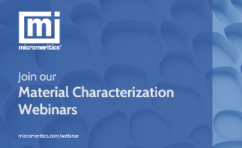 Material Characterization Webinar Series