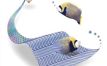 Of the Same Stripe: Turing Patterns Link Tropical Fish and Bismuth Crystal Growth