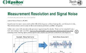A Library of Tech Notes for Extensometers and Strain Measurement