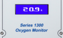 Alpha Omega Instruments New Series 1300 Oxygen Deficiency Monitor