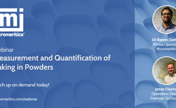 Catch up on demand with 'Measurement and Quantification of Caking in Powders'