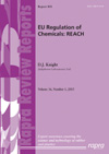EU Regulation of Chemicals REACH