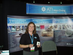 ATI WAH CHANG, a division of ALLEGHENY TECHNOLOGIES - Melissa Martinez, Research Metallurgist