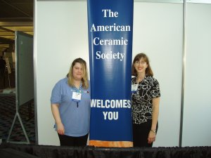 ACerS - Jennifer Burnham, Marketing Manager and Megan Mehan, Marketing and Membership Services