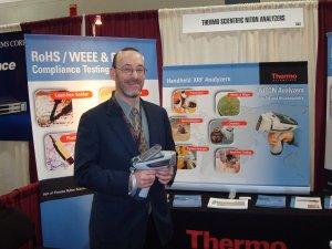 THERMO FISHER SCIENTIFIC, Jon Shein, Director Global Marketing for NITON Analyzers