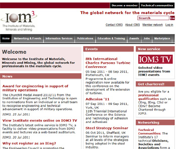 The Institute of Materials, Minerals and Mining - IOM3