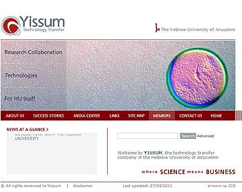 Yissum Research Development Company of the Hebrew University of Jerusalem