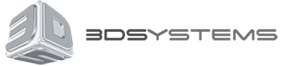 3D Systems logo.