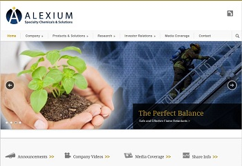 Alexium Speciality Chemicals and Solutions
