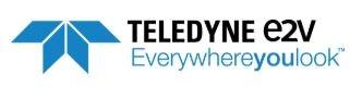 Teledyne E2V logo.