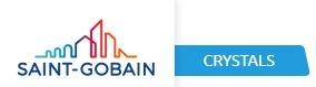 Saint-Gobain Crystals logo.