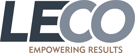 LECO Corporation logo.