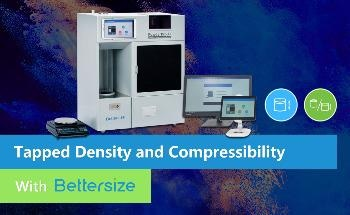 How to Measure the Tapped Density and Calculate the Compressibility with The PowderPro A1