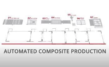 TRB's unique manufacturing process enables fibre to composite part in minutes