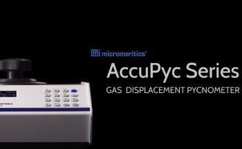 Micromeritics AccuPyc: Automated Gas Displacement Pycnometer