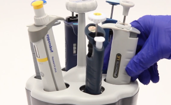 nUVaClean Pipette Cleaning Carousel from Ted Pella, Inc.
