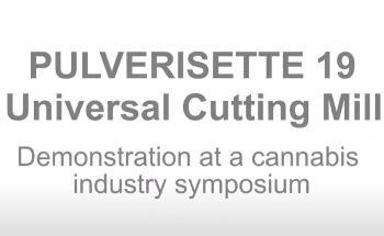 Universal Cutting Mill PULVERISETTE 19
