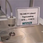 Thermogravimetric Analyzer TG 209 F1 Libra (TGA) from Netzsch Instruments