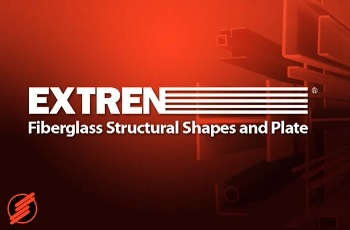 EXTREN Standard Fibreglass Structural Shapes and Plate from Strongwell