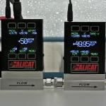 Turndown Ratio of Mass Flow Meters from Alicat