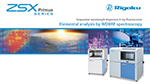 ZSX Primus Series of wavelength dispersive X-Ray fluorescence spectrometers from Rigaku
