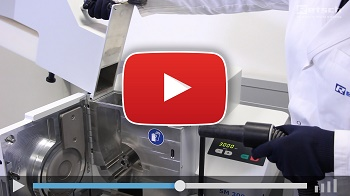 Cutting Mill SM 300 - Cleaning the Machine