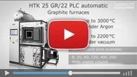 CARBOLITE GERO Semi-Automatic Furnace HTK 8 GR 22