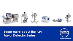 Video of the Range of IQ4 Metal Detection Devices