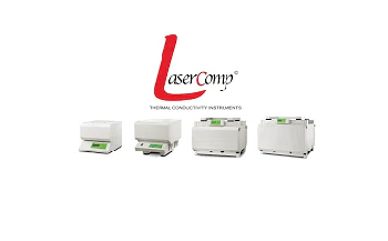 Video to Show the LaserComp FOX Series Heat Flow Meters