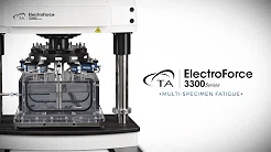 Multi-Specimen Fatigue ElectroForce 3300 - Video Demonstration